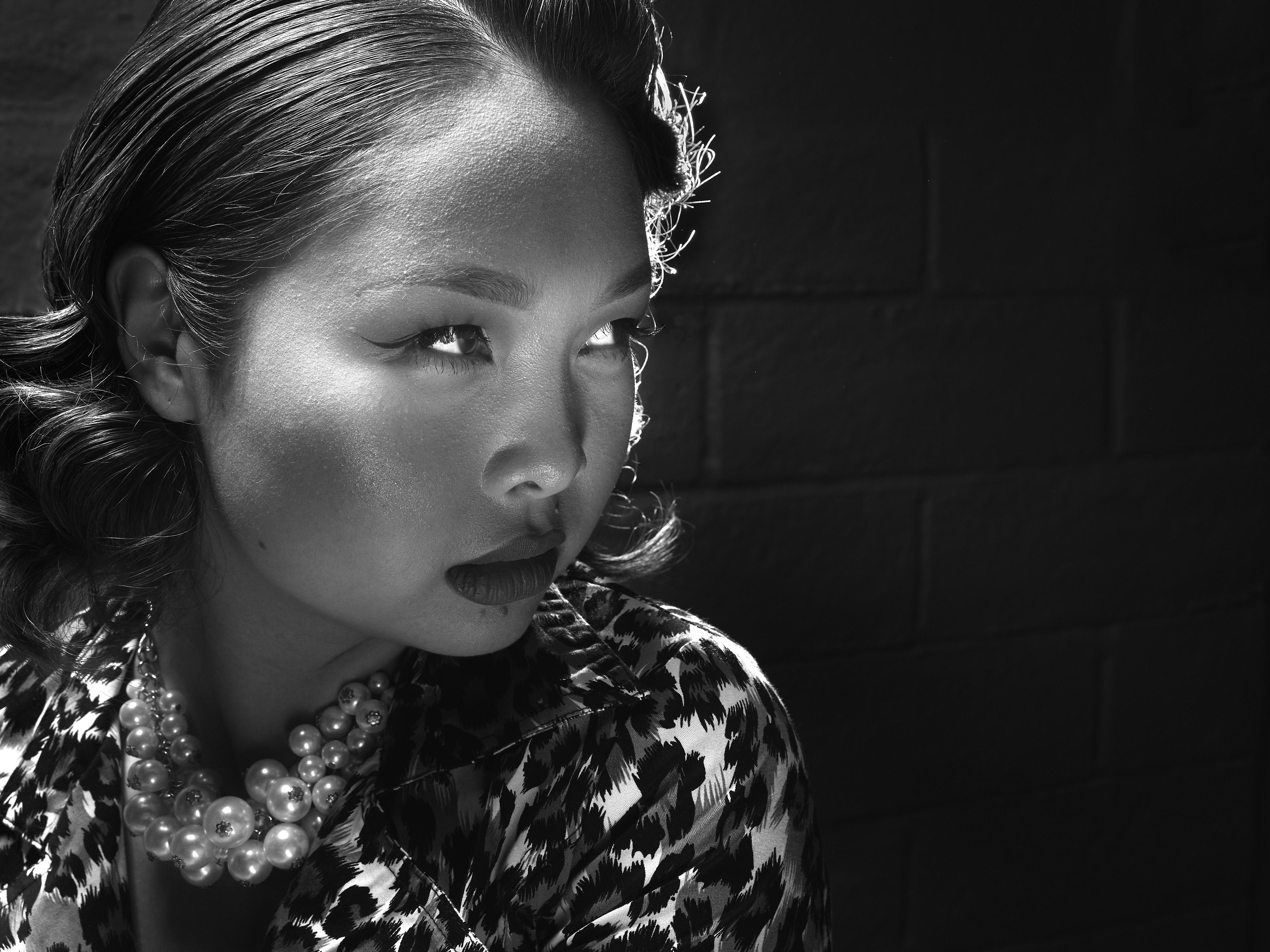 Winnie Photo Shoot 50s Noir